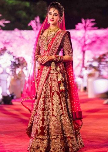 Best Ghagra Choli Bridal Design - Krazzy Fashi