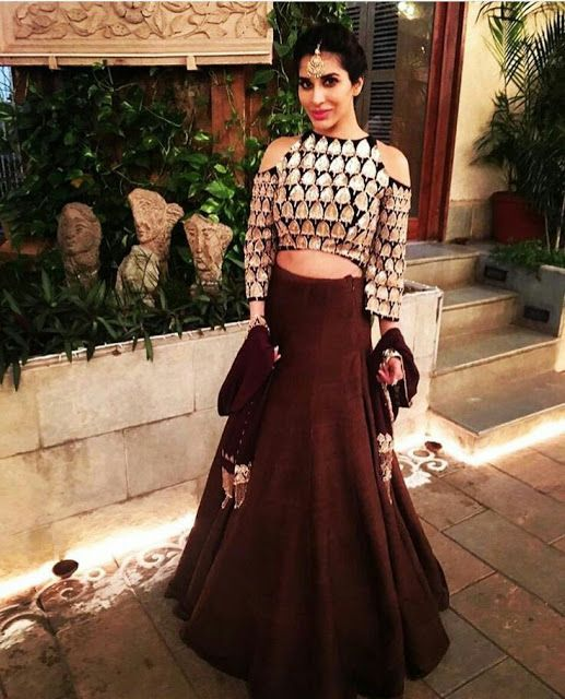 Latest Top Blouse Designs For Lehenga Choli (With images) | Latest .