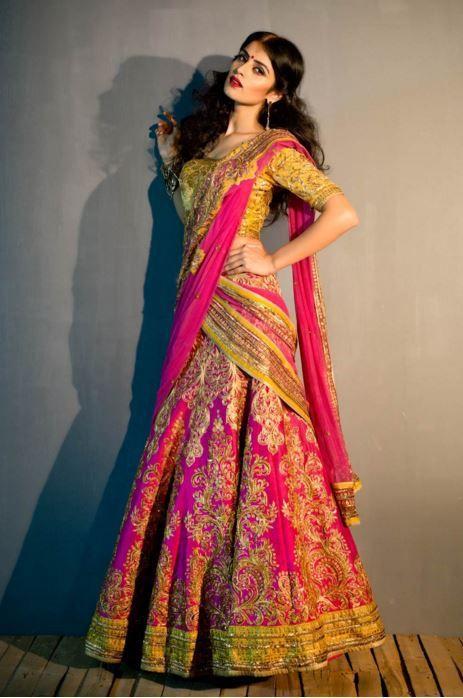 Shahpur Jat for choosing best designer bridal lehengas (With .
