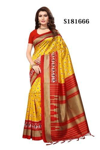 Silk Weaving Bhagalpuri Sarees, Length: 6.3 m, Rs 500 /piece .