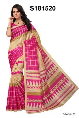 Silk Fancy Bhagalpuri Sarees, Length: 6.3 m, Rs 225 /piece KESHVI .