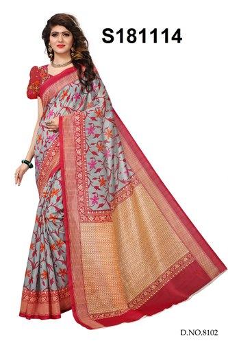 Silk Casual Bhagalpuri Sarees, Length: 6.3 m, Rs 225 /piece KESHVI .