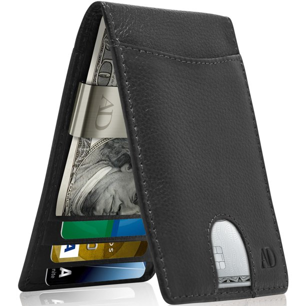 Access Denied - Slim Bifold Wallets For Men - Money Clip Wallet .