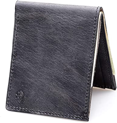 Bifold Leather Wallet For Men | Made in USA | Mens Bifold Wallets .