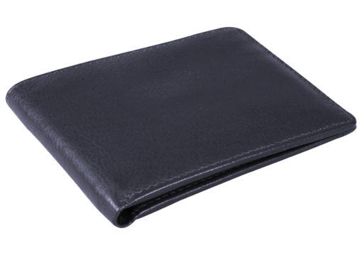 Leather Bifold Wallet - Issara - Ethically Handcrafted Luxury .