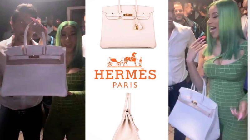Cardi B Super Fan Gifts Singer $20k Birkin Bag For Showing Up To .