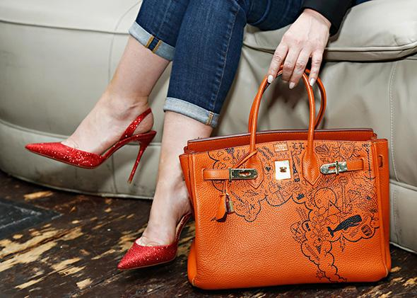 Primates of Park Avenue and Birkins: Yes, designer handbags are .