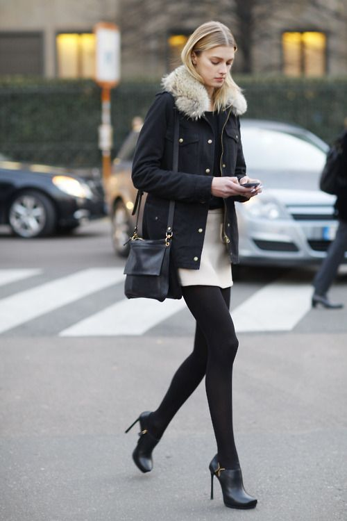 50 Ways To Wear White Skirts In Winter (With images) | Fashi
