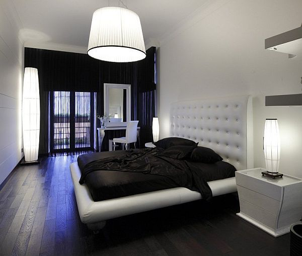 Decorating arund dark floors | White bedroom decor, White bedroom .