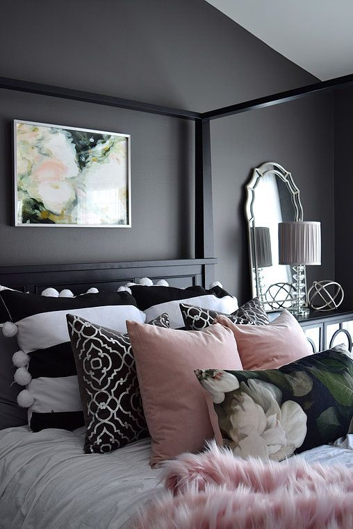 Black Bedroom Ideas, Inspiration For Master Bedroom Designs .