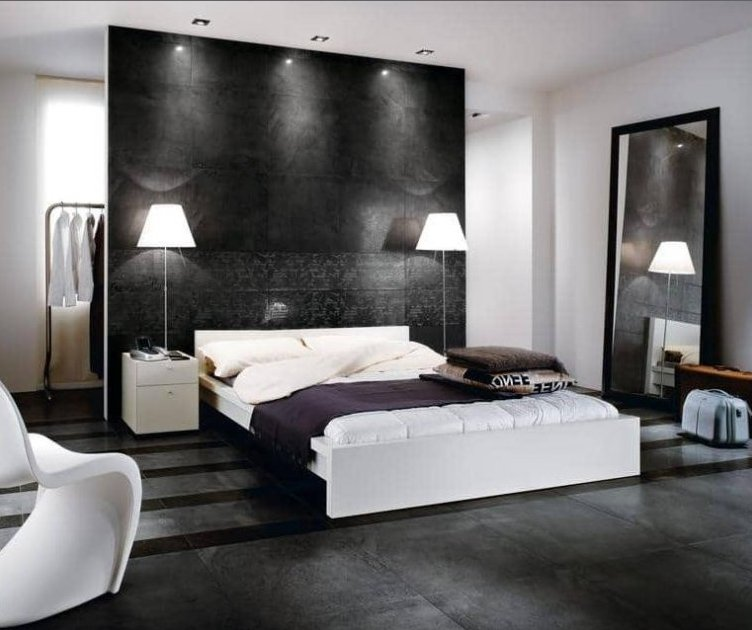 Tremendous Black and White Bedroom Designs - Camer Desi