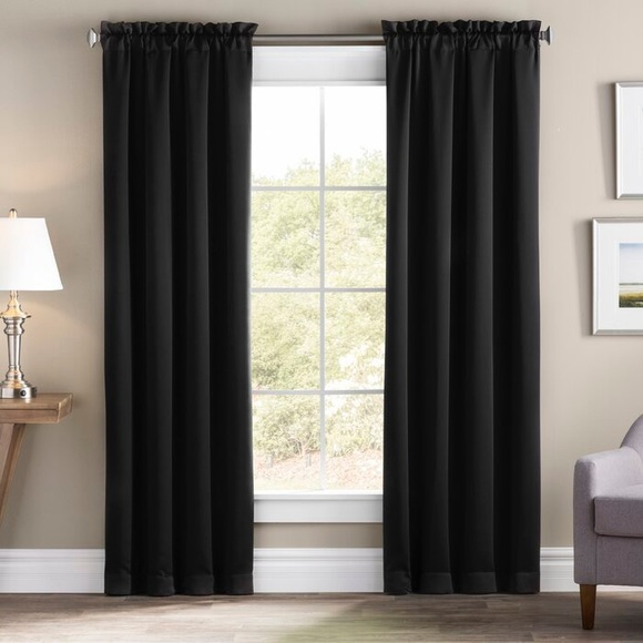 Accents | Black Curtains | Poshma