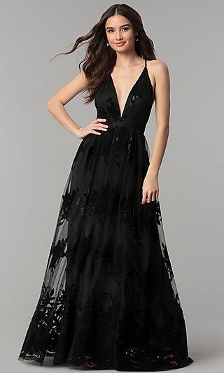 PromGirl - Short Black Dresses, Long Black Prom Gow