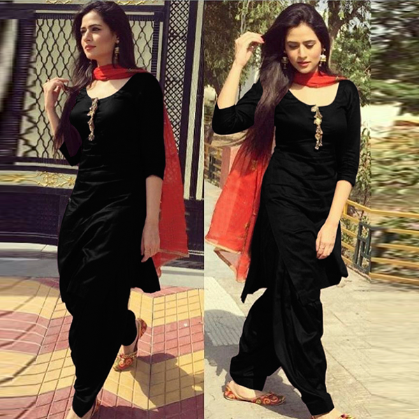 Black Salwar Suit Designs