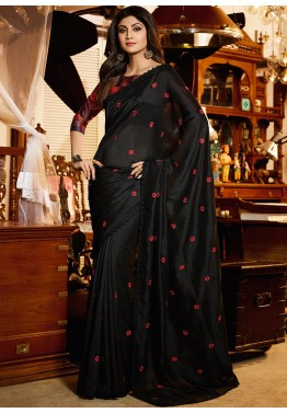 Black Saree - Designer Indian Black Sarees Collection Online USA,