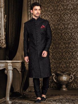 Indian Wedding Sherwani Designs 2018 | Mens indian wear, Groom .