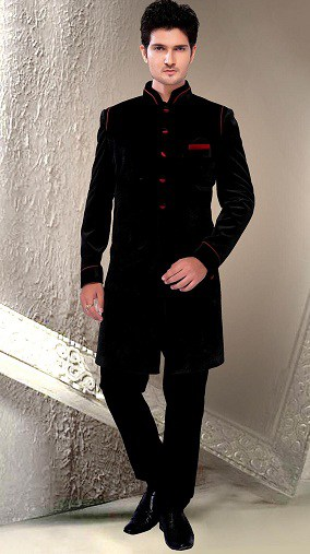 Black Sherwani Designs for Men - 10 Trending Styl