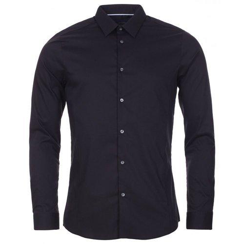Cotton Plain Mens Black Shirt, Size: 38, Rs 250 /piece Mafia .