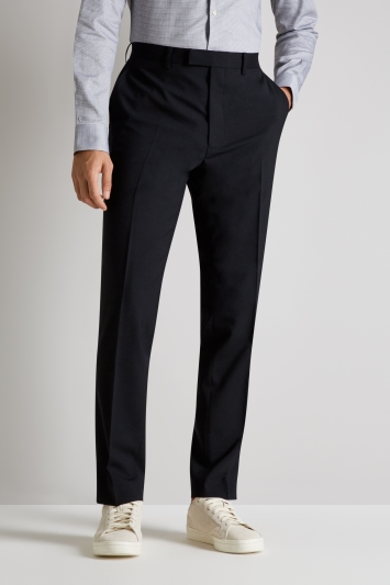 French Connection Slim Fit Black Pan