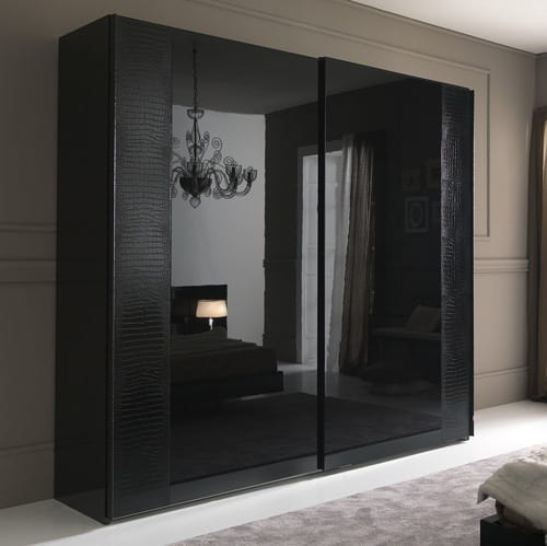 Sharp & Chic: 10 Sleek Black Armoire Desig