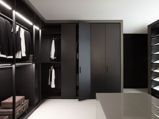 China Assemble Bedroom Portable Storage Black Wardrobe Closet .