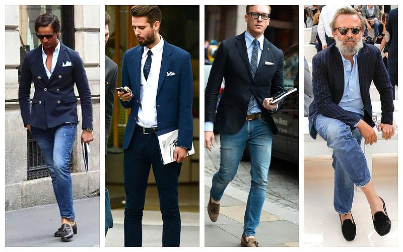 How to Wear a Blazer With Jeans - The Trend Spott