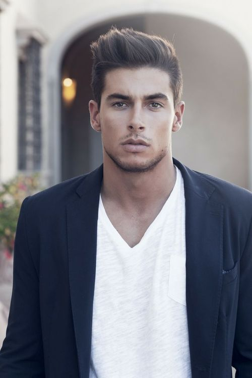 Hair & casual blazer | Mens hairstyles, Haircuts for men, Classy .