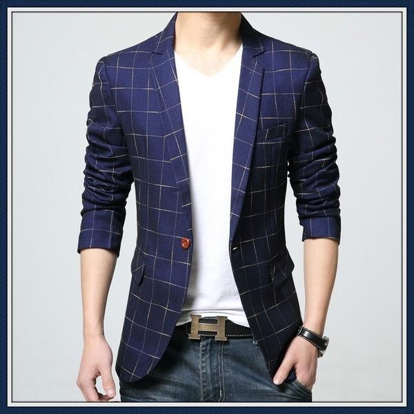 Classic Blazer Luxury Wedding Dress Blazers Men High Quality Suit .