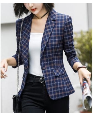 New Sales are Here. 33% Off Emma Way Women's Blazers Blue - Blue .