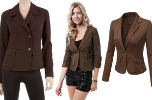 Brown blazers for women – ChoozO