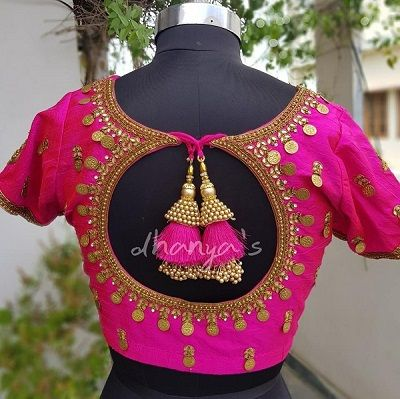 85 Latest Blouse Designs for Sarees: Images and Catalogue (2020 .