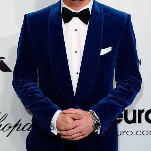 Annu Exports Men Royal Blue Velvet Blazers Halloween Party Wear .