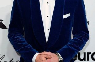 Annu Exports Men Royal Blue Velvet Blazers Halloween Party Wear .