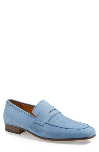 Sky blue loafers (With images) | Loafers men, Mens blue dress .