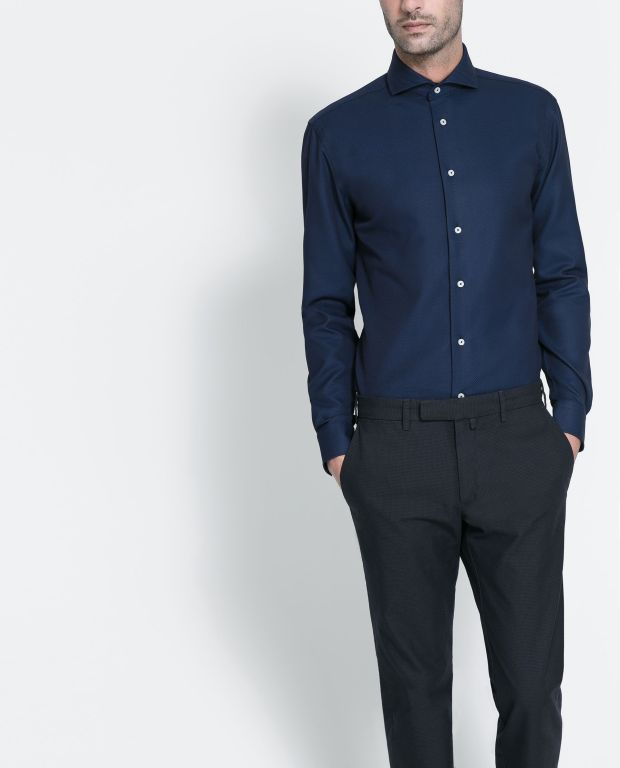 Navy Blue Shirts And Black Pants Can Look Good Together - The .