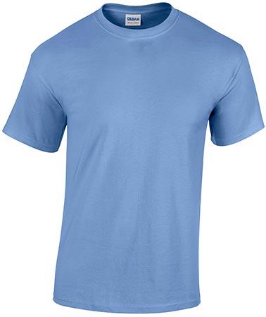 Carolina Blue Blank T-shirt – DCG T-shir