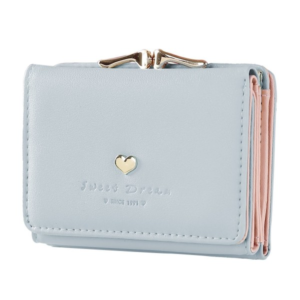 Womens Wallet Metal Frame Little Clutch Wallets Card Holder Wallet .