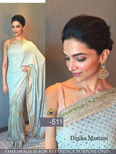 Embroidered Bollywood Designer Saree, Rs 1000 /piece Jau Fashion .