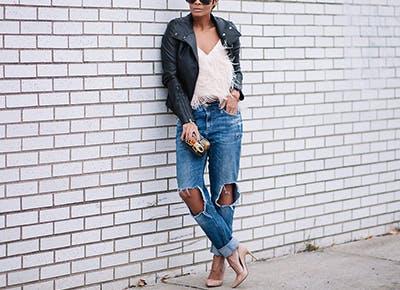 How to Wear Boyfriend Jeans - PureW
