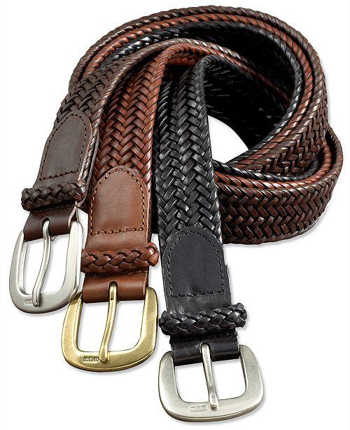 Polo Ralph Lauren Men's Belt, Core Derby Braided Belt & Reviews .