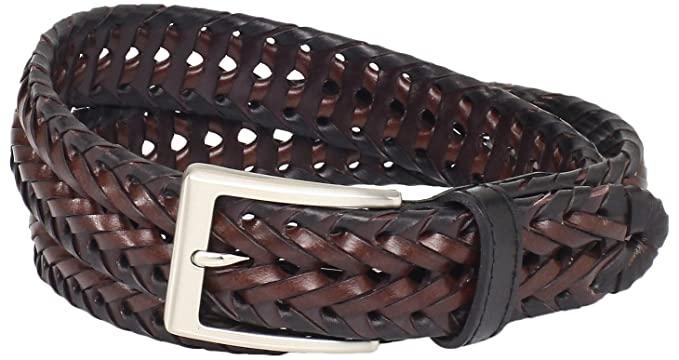 Buy Dockers Men's 1 1/4 in. Braided Belt, Black, 34 at Amazon.