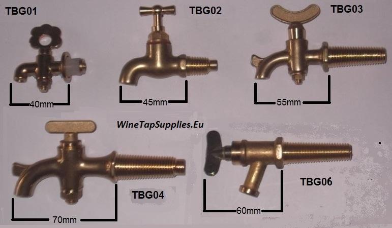 Brass Barrel Taps | Spigot Tap for Whiskey Barrel | Spigot Spout .