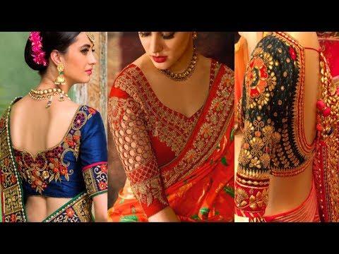 Bridal Wedding Blouse Designs 2019 - Beautiful Indian bridal .