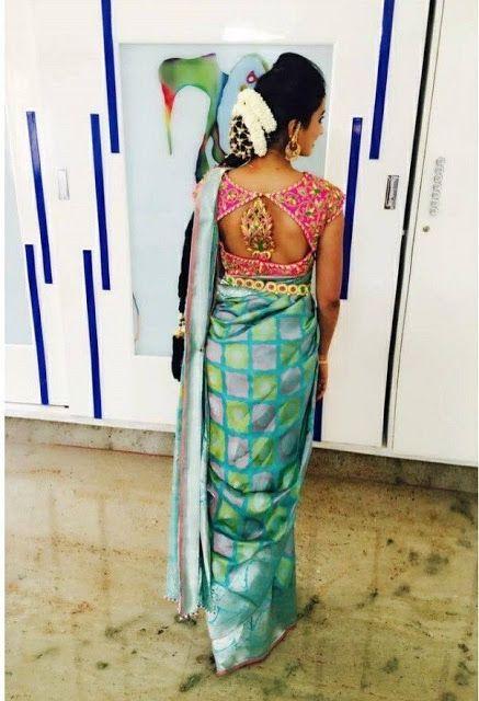 Bride Savitha Reddy Trendy Blouse | Bridal blouse designs, Trendy .