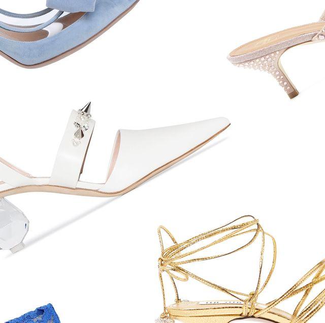 74 Best Wedding Shoes of 2020 - Designer Bridal Heels and Fla