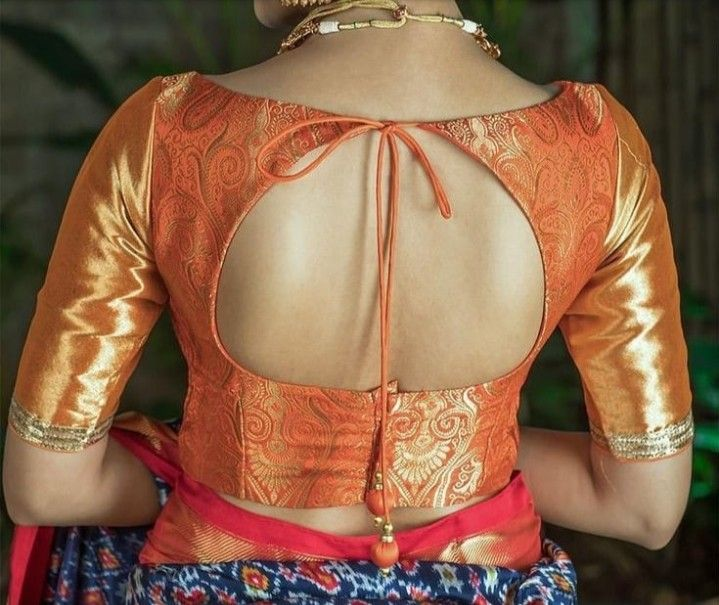 Pin by Aswany Mohan on Blouse designs | Blouse designs silk .