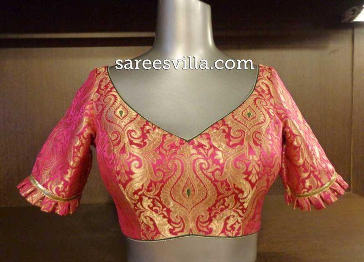 Image result for Blouse   Fashion blouse design, Fancy blouse .