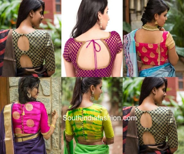 Latest Saree Blouse Designs for Upcoming Festivals – South India .