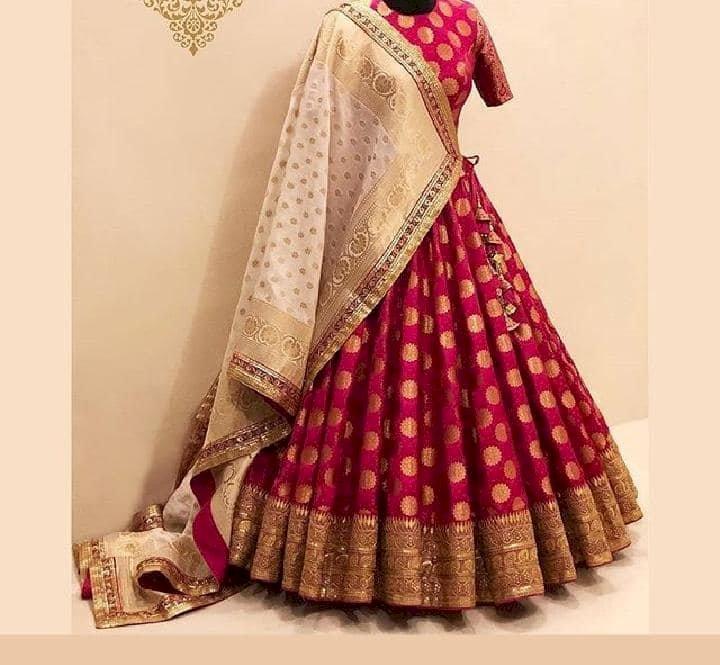 Banarasi brocade lehenga choli sets - Fashion Marketplace India .