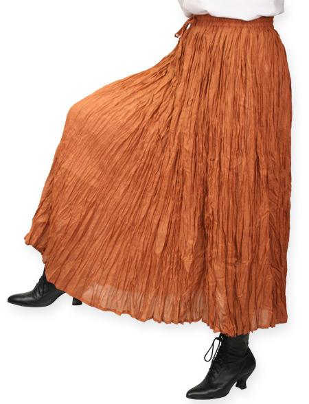 Hestia Broomstick Skirt - Copp